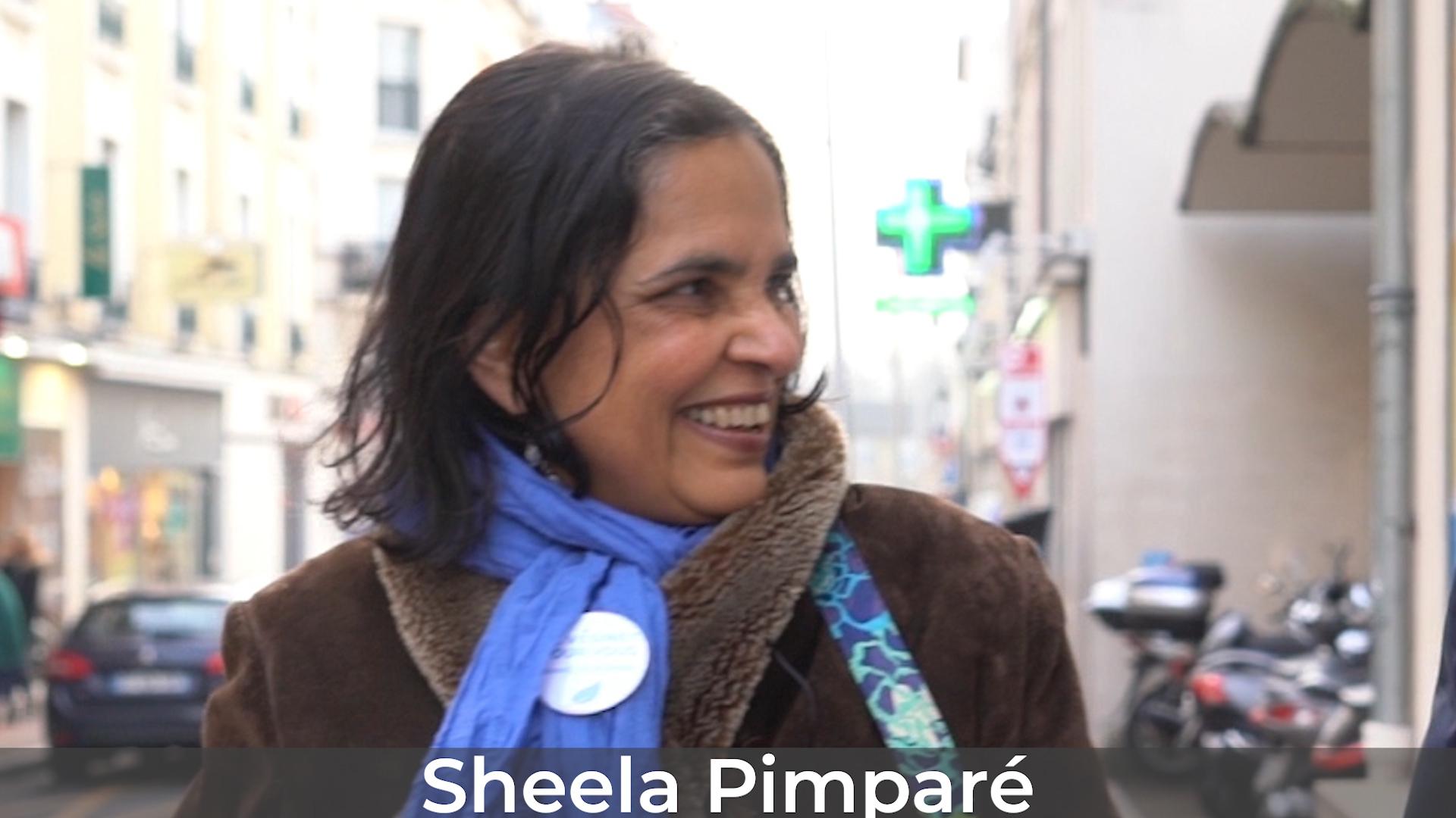 Sheela Pimparé se présente